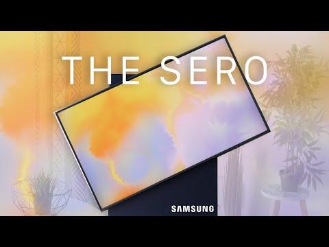 Samsung The Sero : La TV qui pivote, norme de demain ? Mon avis !