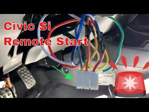 Honda Civic Si 2014 Remote Start with Manual Standard Transmission