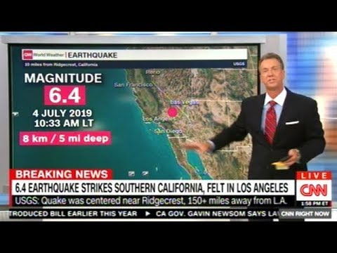 6 4 Earthquake Hits Southern California!