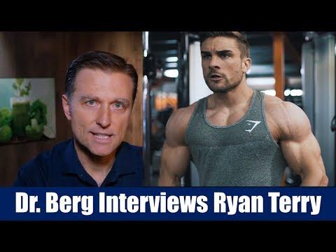 Dr. Berg Interviews Ryan Terry on Body Building