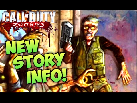 *NEW OFFICIAL ZOMBIES STORY INFO! CoD ZOMBIES COMIC BOOK SERIES Issue 4 Cover Image