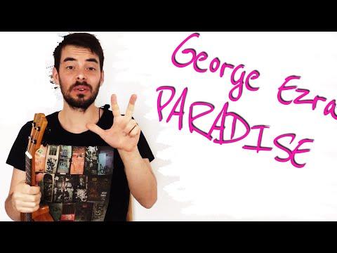 George Ezra PARADISE Ukulele Tutorial Lesson - Easy Chords And Strumming