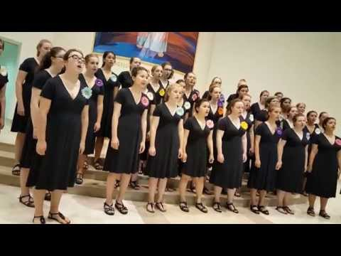 Concert in Aid of Id-Dar tal-Providenza by the Northwest Girl Choir from Seattle, Washington, USA