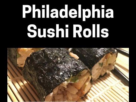 Vegan Spicy Philadelphia Rolls Day 8