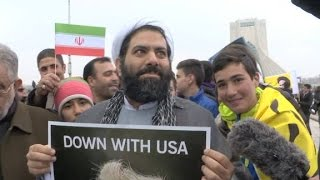 Iranians: Death to Trump