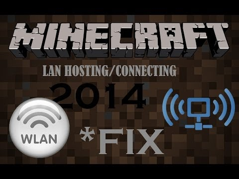 *More recent* Fix Minecraft LAN Not Working - 1.12