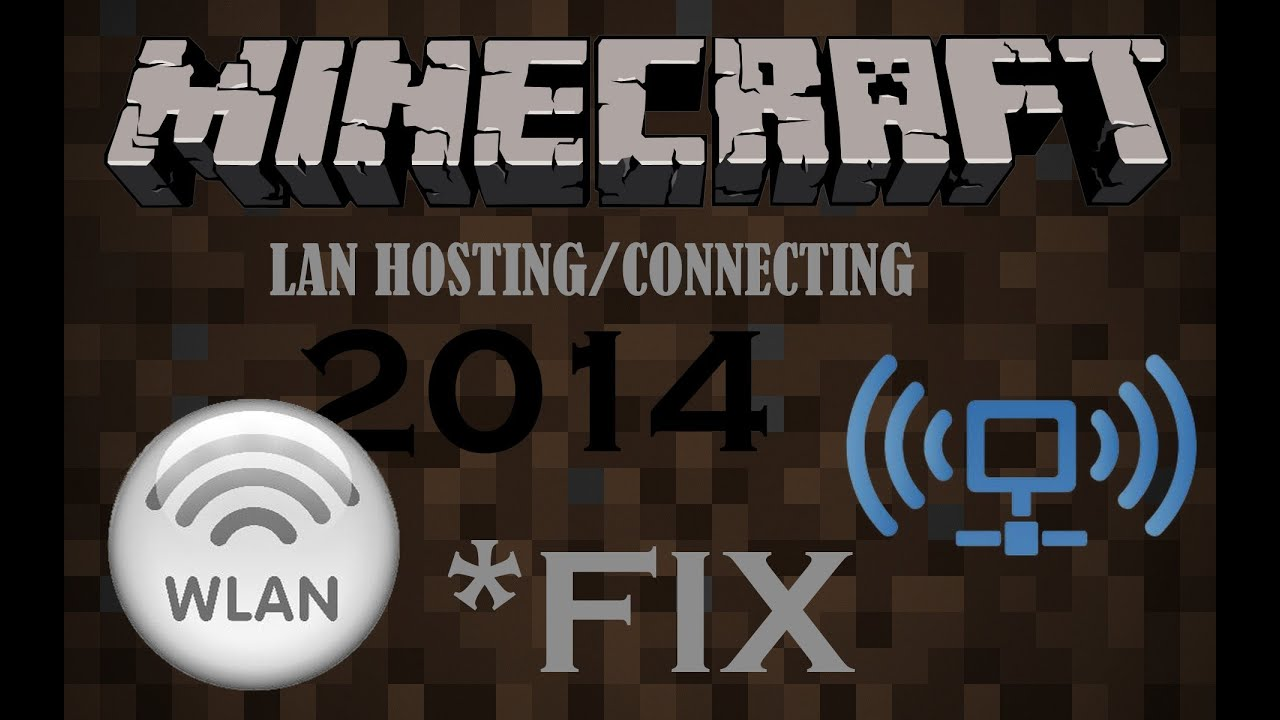 More Recent Fix Minecraft LAN Not Working YouTube - Minecraft lan spielen mit einem account