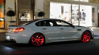 750hp manhart bmw m6 w akrapovic exhaust great sounds in london