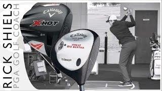 Callaway Golf Great Big Bertha (1997) Vs Callaway X Hot (2013) Driver
