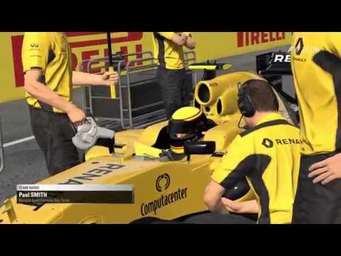 F1 2016 PC Chinese Grand Prix Renault Career Race GTX 970 Onboard