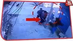 Faridabad के पास बल्लभगढ़ में बिच सड़क पर बदमाशों ने मचाई उत्पात, गुस्साए लोगों ने की जमकर पिटाई