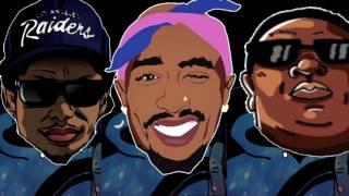 2pac eazy e & biggie xo tour llif3 remix