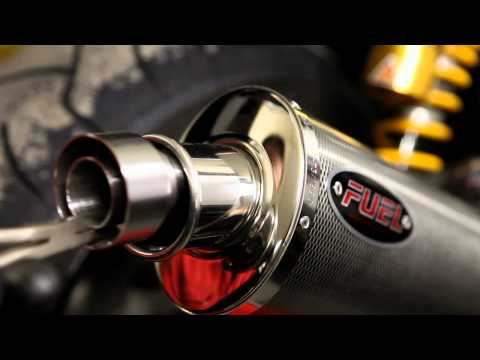 Repeat Remus Exhaust Baffle Removal, Yamaha Thunderace by