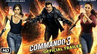 Commando 3 Movie Official Trailer   Vidyut Jamwal, Adah Sharma   Release Date