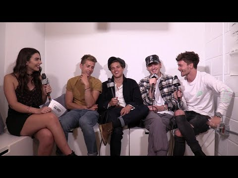 Interview with The Vamps