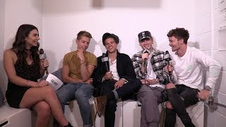 Watch AMBY's exclusive interview with The Vamps! I genuinely cannot...
