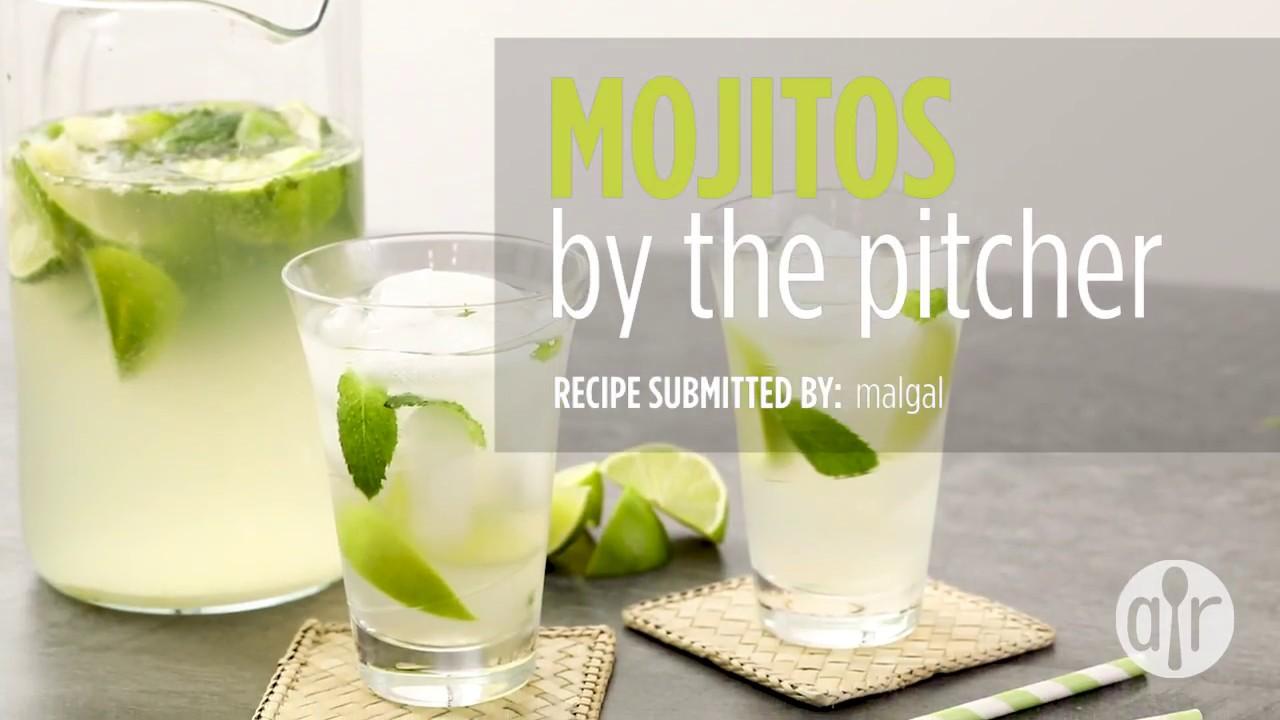 How To Make Mojitos By The Pitcher Drink Recipes Allrecipes Com