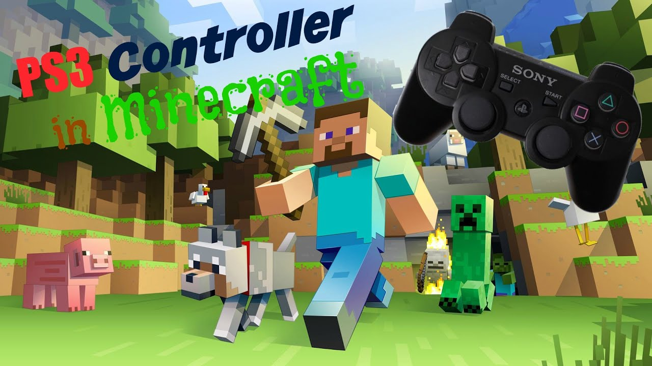 Minecraft Mit PS Controller Spielen PC YouTube - Minecraft spielen download chip