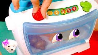 Los Números en español para niños - Juegos de niñas - El Horno Contador