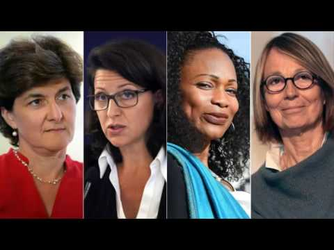 Macron cabinet: Women are half of France's new minsters