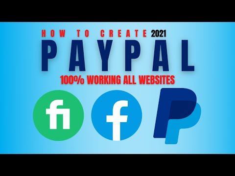 How To Create PayPal Account 2021 | Verified 2021 | Add Virtual Card In PayPal |