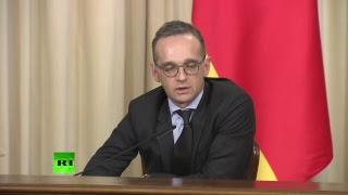 Пресс-конференция Сергея Лаврова и главы МИД ФРГ Хайко Мааса по итогам встречи
