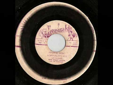 The Tenners With Tommy McCook -Hopefull Village - Treasure isle records festival song rocksteady