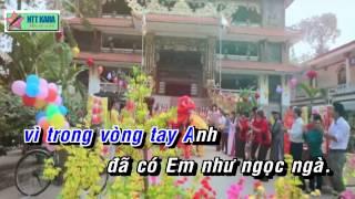 [Karaoke] Bài Ca Tết Cho Em Remix - Lương Viết Quang (full beat)