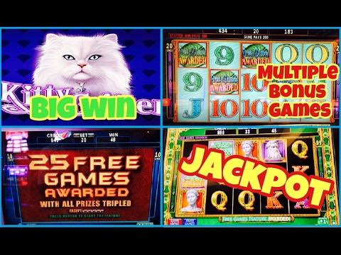 30 Bet Jackpot Handpay Kitty Glitter Not Litter Free Spins Bonus
