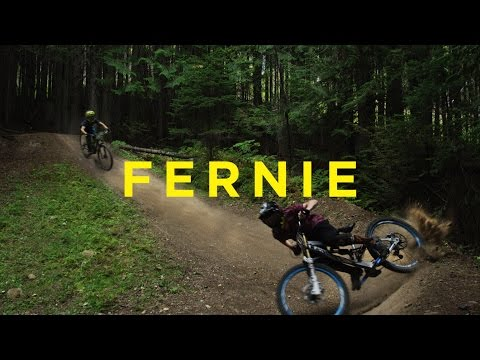 Mountain Biking at the Fernie Bike Park