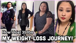 My Weight Loss Journey: How I Lost 16kg (35 lbs) + Before & After Pictures & Clips!
