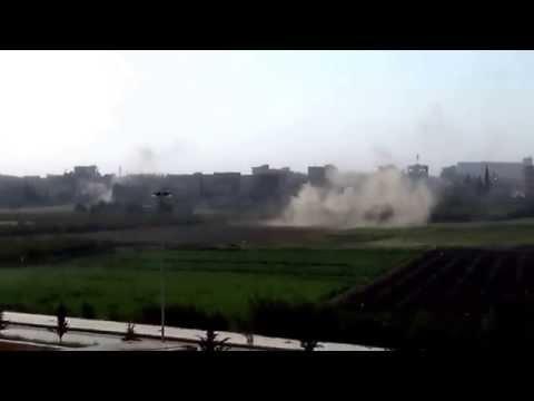 Aleppo Cluster Bomb Attack