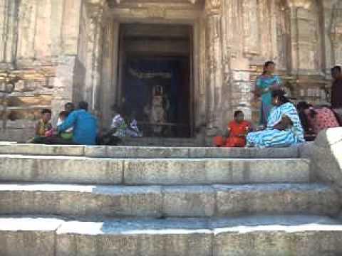 MOV01839Keerthi Narayana temple at Talakad at karnataka