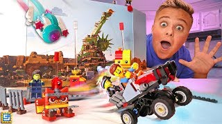 I MADE A TOP SECRET LEGO BLOCKS MOVIE! Lego Movie Maker