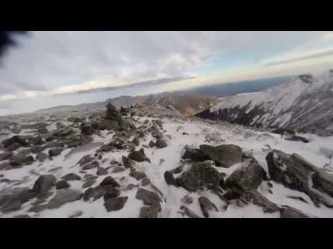 Hiking Mt. Washington in Early Winter (White Mountain National Forest) - Mad Workouts TV