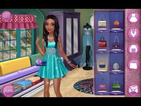 Мультик игра Одевалки: Модный день Тины (Tina Fashion Day)