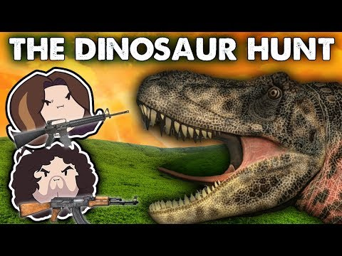 The Dinosaur Hunt  Game Grumps