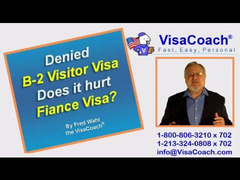 Denied B-2 Visitor Visa affects on K1 Fiance Visa application?