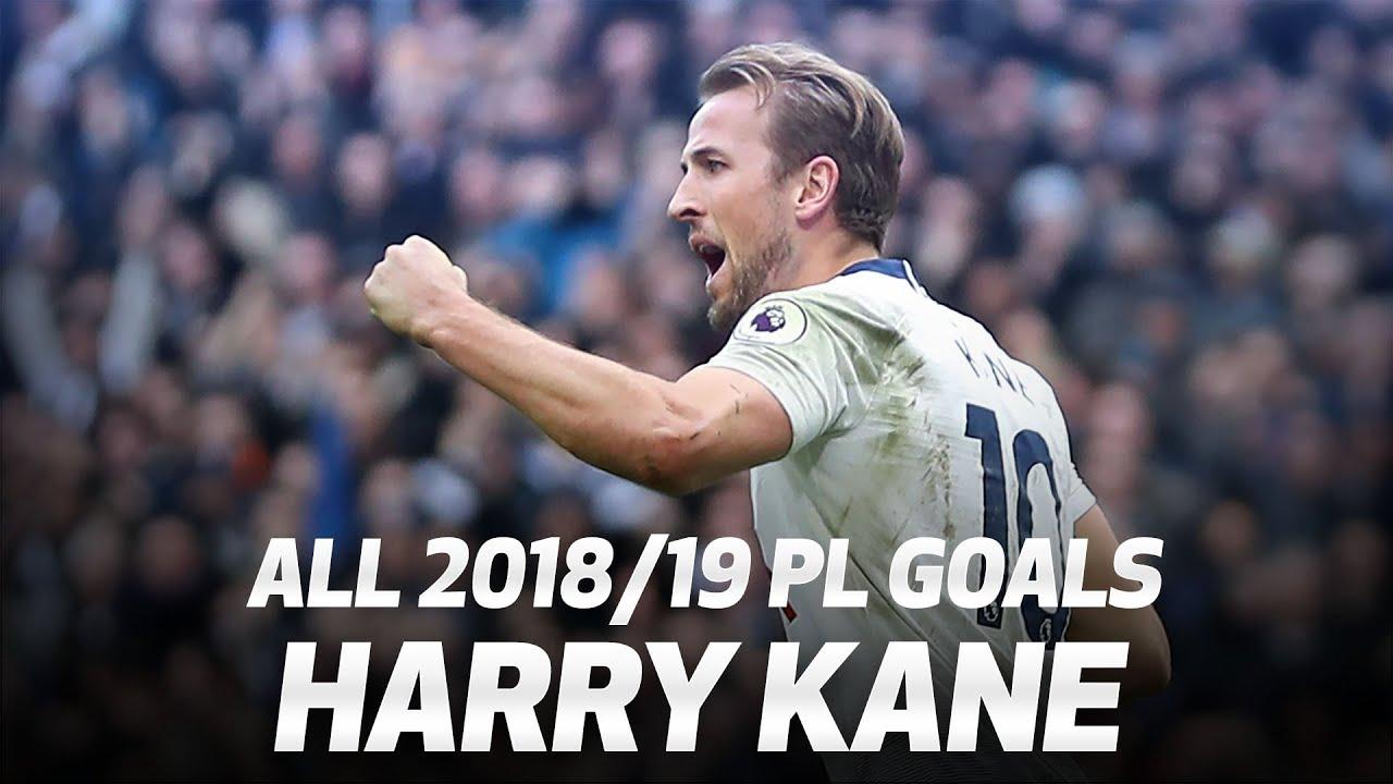 Download ALL OF HARRY KANE'S 2018/19 PREMIER LEAGUE GOALS