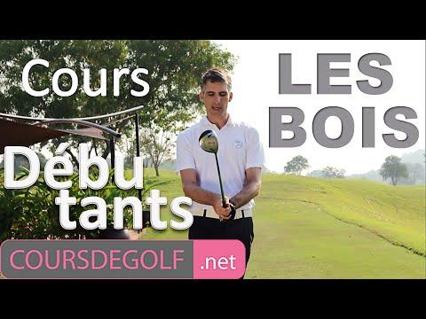 Cours de golf débutant : Les bois