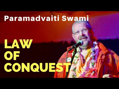 Law of Conquest and Rights of Mother Earth - Paramadvaiti Swami [Hungarian]