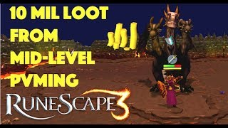 10 Mil Loot from PvMing, Runescape 3 (2018)