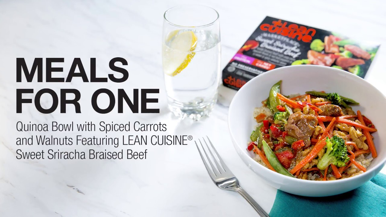 Meals For One A Quinoa Bowl Featuring Lean Cuisine Sweet