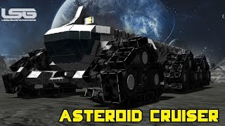 Space Engineers - Planetary Exploration Vehicle, Asteroid Cruiser