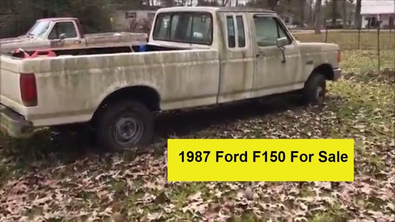 1987 Ford F150 >> 1987 Ford F150 4x4 For Sale Rolling Chassis South Louisiana V8