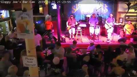 SLOPPY JOE'S | WEB CAMS: STREAMING BAR CAM | 16/02/2019