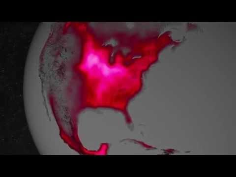 NASA   Satellite Shows High Productivity From U.S. Corn Belt