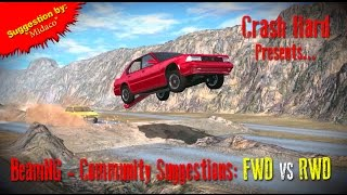 beamng community suggestions fwd vs rwd