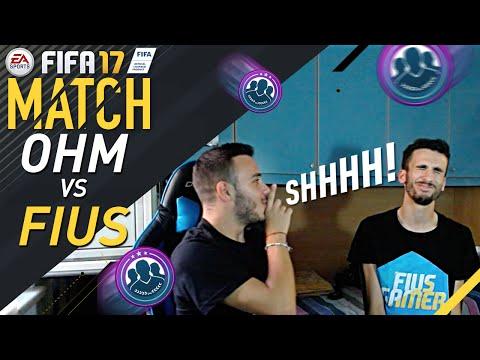 FIUS VS OHM (e merd)! MATCH EPICO SU FIFA 17!!!