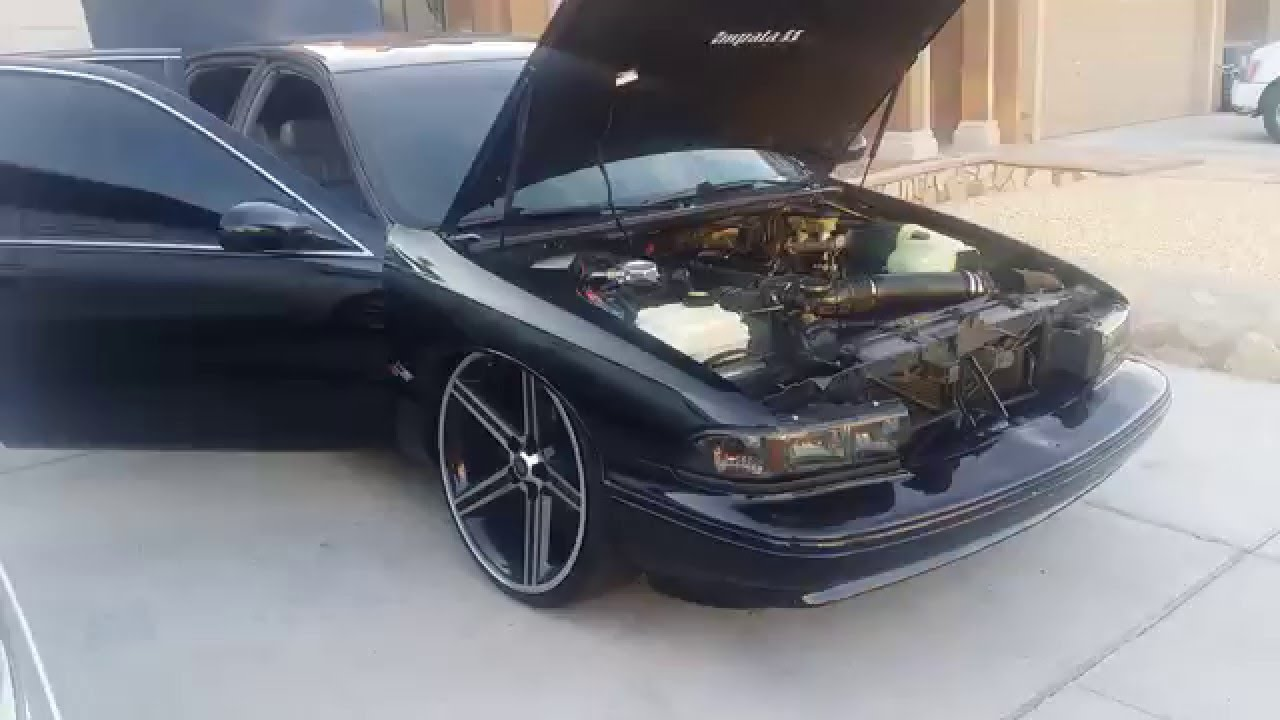95 Impala SS on 24's (SOLD) - YouTube